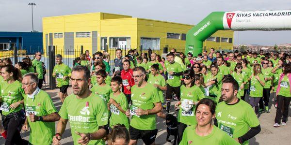 Carrera Contra el Cáncer 2018 en Rivas