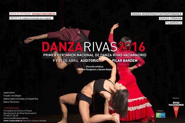 Palmarés del Certamen Danza Rivas 2016
