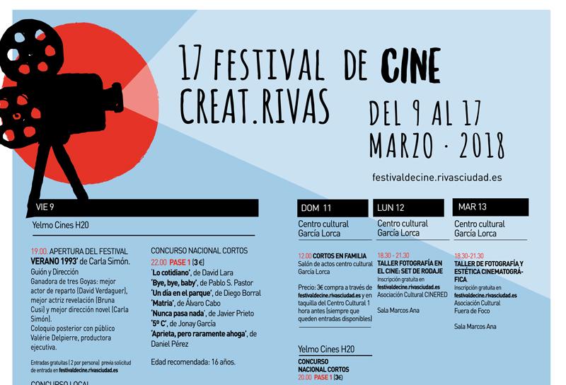 Festival de Cine de Rivas: 17 años de historia