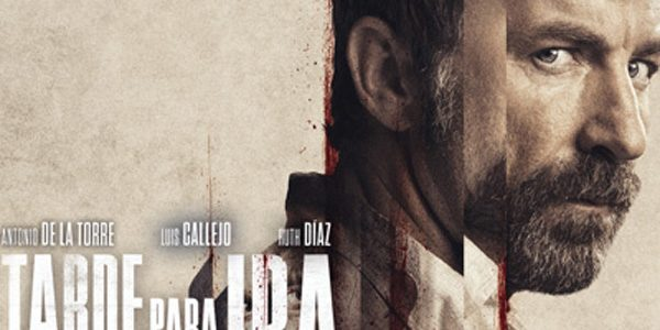 'Tarde para la ira', con su guionista David Pulido