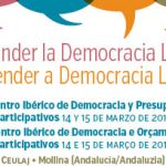 Rivas, en un encuentro en defensa de la democracia local