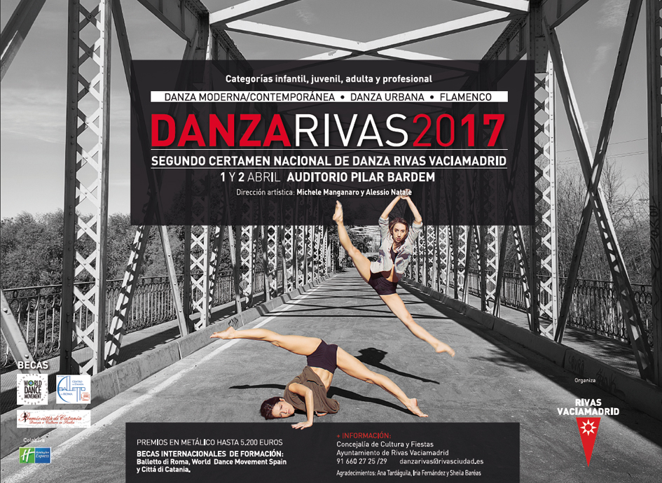 890 participantes en el certamen Danza Rivas