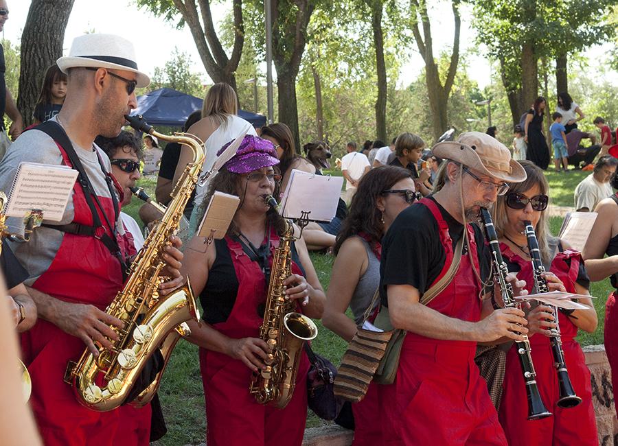 Las fiestas solidarias y vecinales de Pablo Iglesias