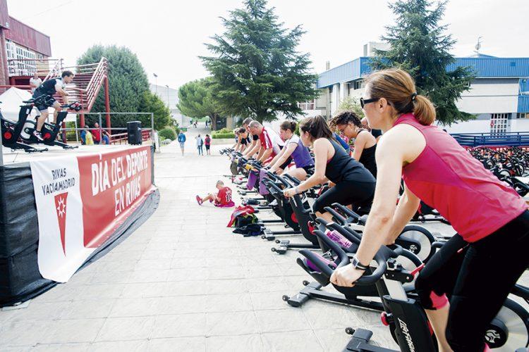 Fiesta deportiva: maratón de fitness Marzo Mujeres