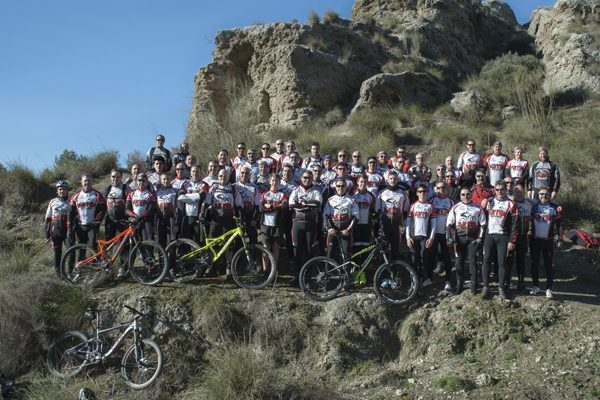 Club MTB Rivas: ocho años pedaleando