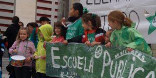 Seguimiento de la huelga educativa en Rivas
