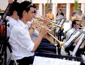 Concierto: orquesta Athanor, en la plaza