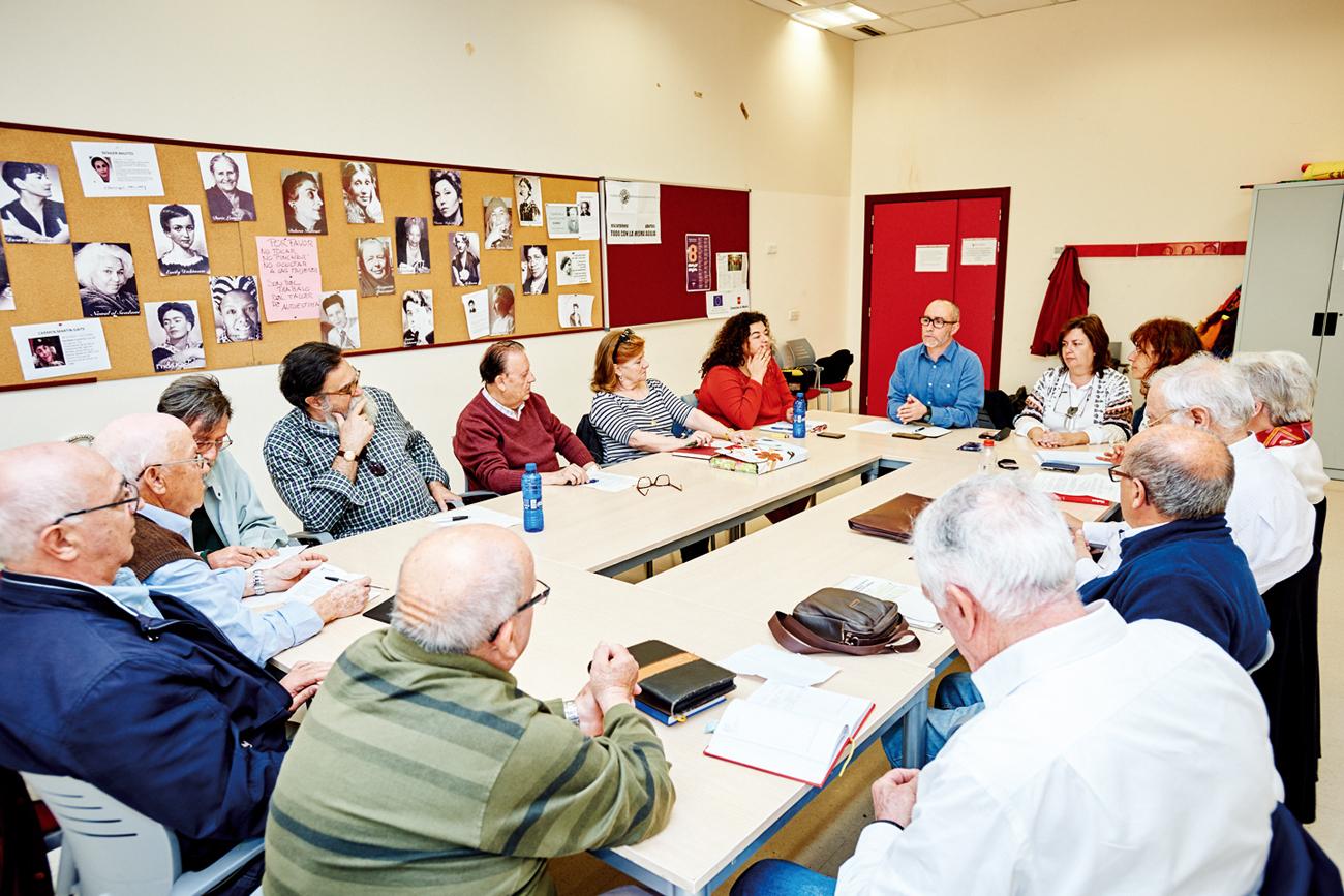 Elegido el nuevo Consejo Rector de mayores