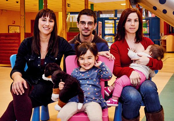 Tres espacios para el apoyo a la crianza y lactancia