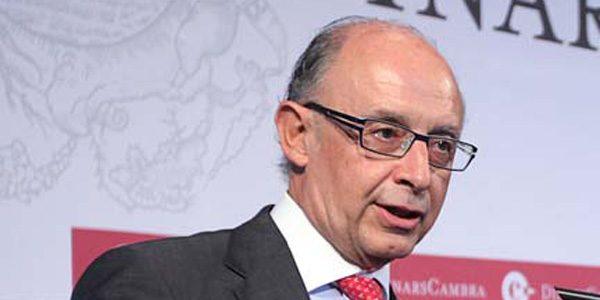 Rivas reprueba al ministro Cristóbal Montoro