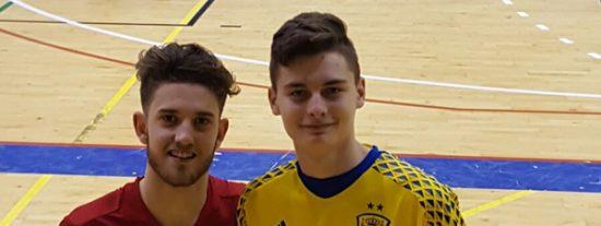 Internacionales con la selección española sub 19