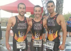 Campeones de España de triatlón de invierno