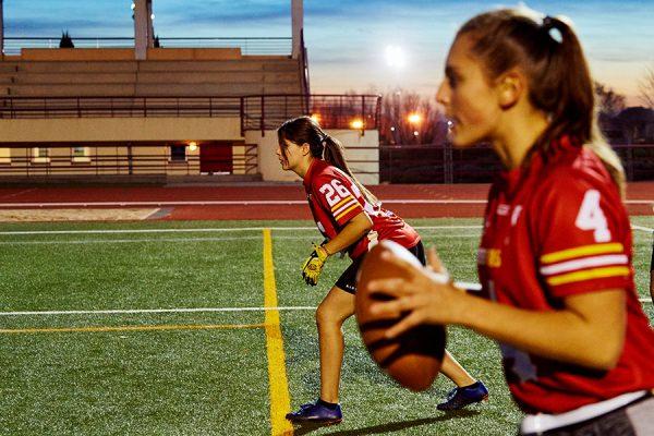 Yarda a yarda: las ripenses y el fútbol americano