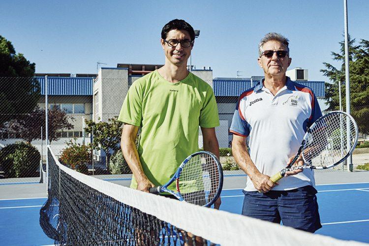 Así se juegan las ligas locales de tenis y pádel