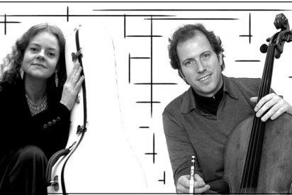 El dúo Boccherini, en el Casco: chelo y guitarra