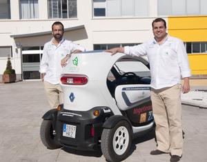 El coche 100% eléctrico pasea por Rivas