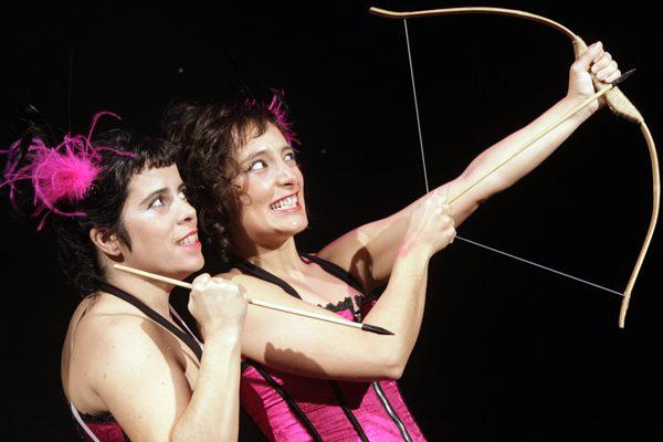 Las XL, cabaré feminista: asesinas de Cupido