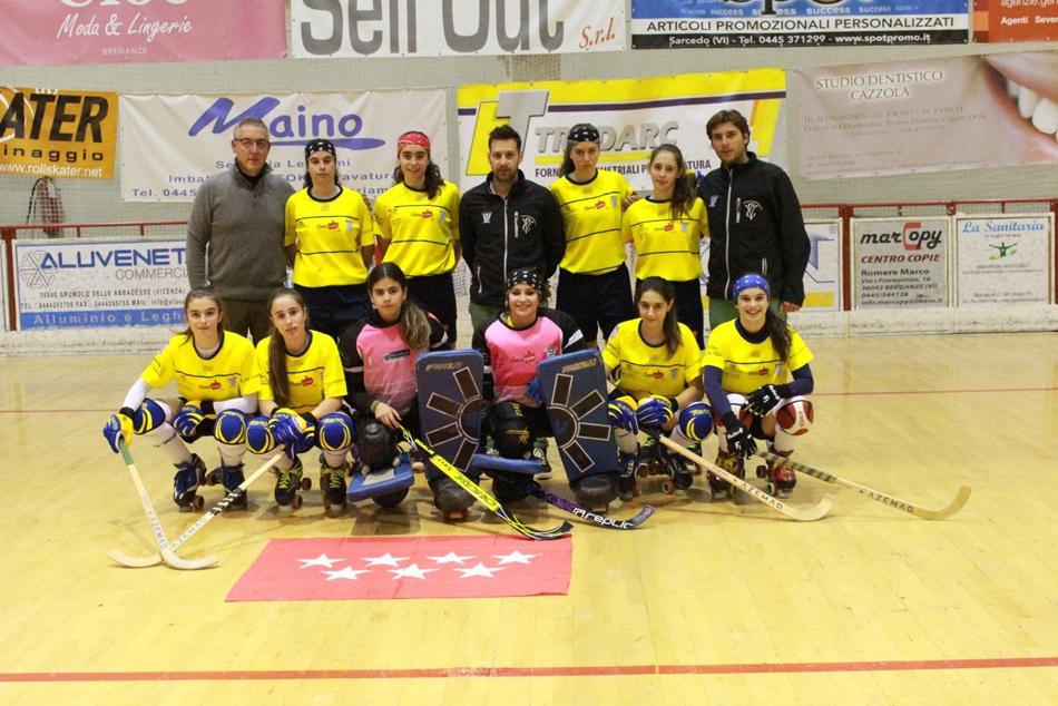 Subcampeonas de Europa de hockey sub 17