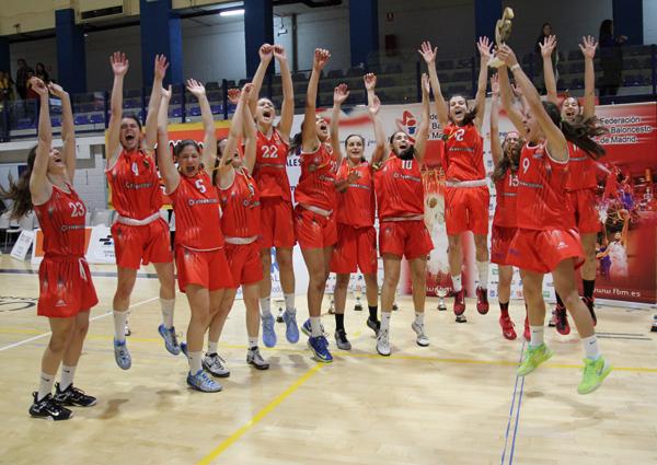 Las júnior de oro: campeonas de Madrid