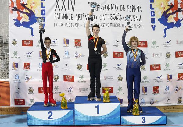 Jorge Canales, campeón de España juvenil