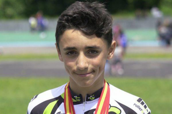 Patinaje velocidad: campeón alevín de España