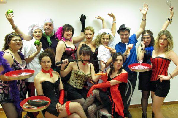 Obra de teatro 'Restaurante afrodisias'