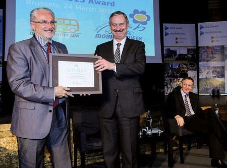 Rivas, premio europeo a la Movilidad Sostenible