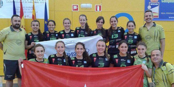 Campeonas de España de voleibol al ritmo de La Pegatina