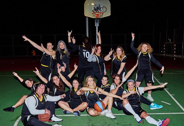 Enamoradas del baloncesto pasados los 40