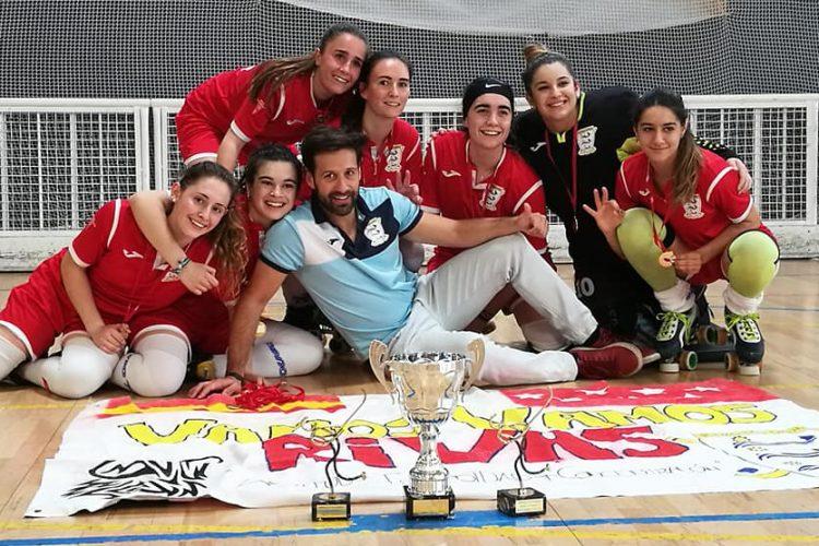 Hockey: bronce estatal y tres títulos de Madrid
