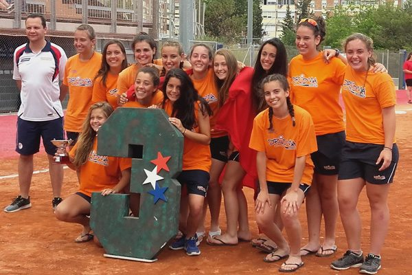 Dridma, bronce: campeonato de España sub 19