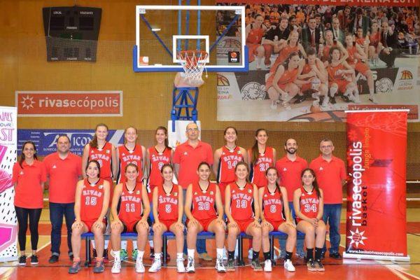 Baloncesto: subcampeonas júnior de Madrid