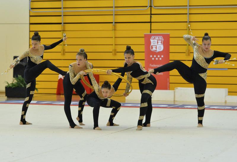 La gimnasia de Rivas, al campeonato de España