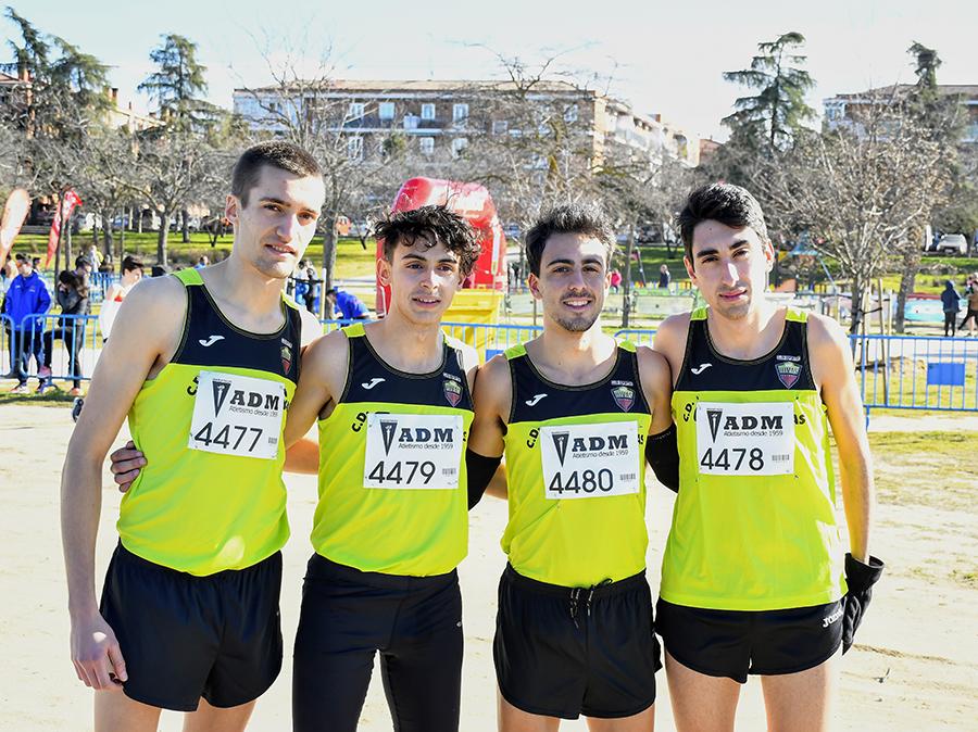 Rivas brilla en el campeonato de cross de Madrid