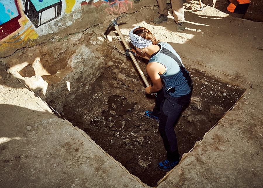 Arqueología: charlas y visitas a excavaciones