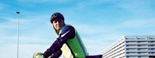 Felipe López: al trabajo en bicicleta