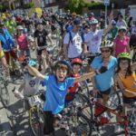 Fiesta de la Bici: escolares dibujan el cartel