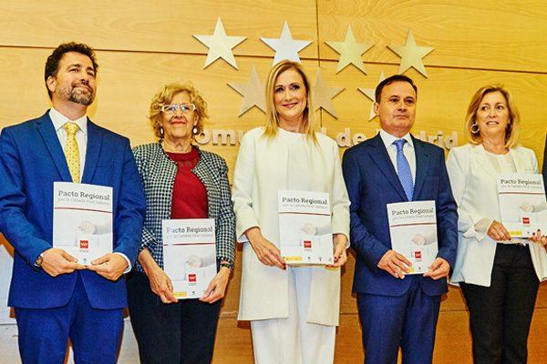 Firmado el Pacto Regional por la Cañada Real