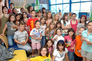 Juegos y talleres para conocer el Foro Infantil