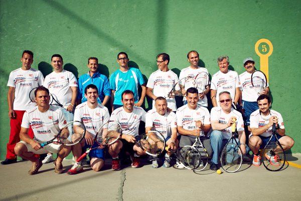 Raquetazos a la pared: el frontón en Rivas