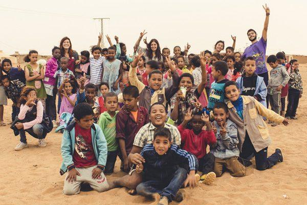 Pañoletas para un grupo scout saharaui