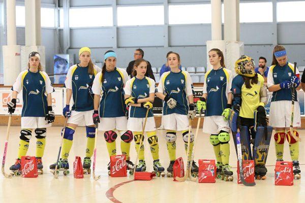 Menudo hockey: campeonas de Madrid sub 16