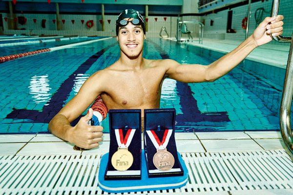 Hugo González, retrato de un campeón mundial de natación