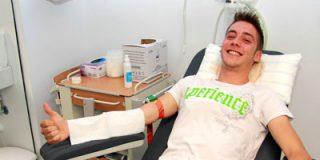 Récord de donación de sangre: V maratón