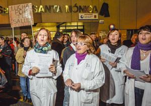 'Ninguna casa en Rivas sin sábana blanca'