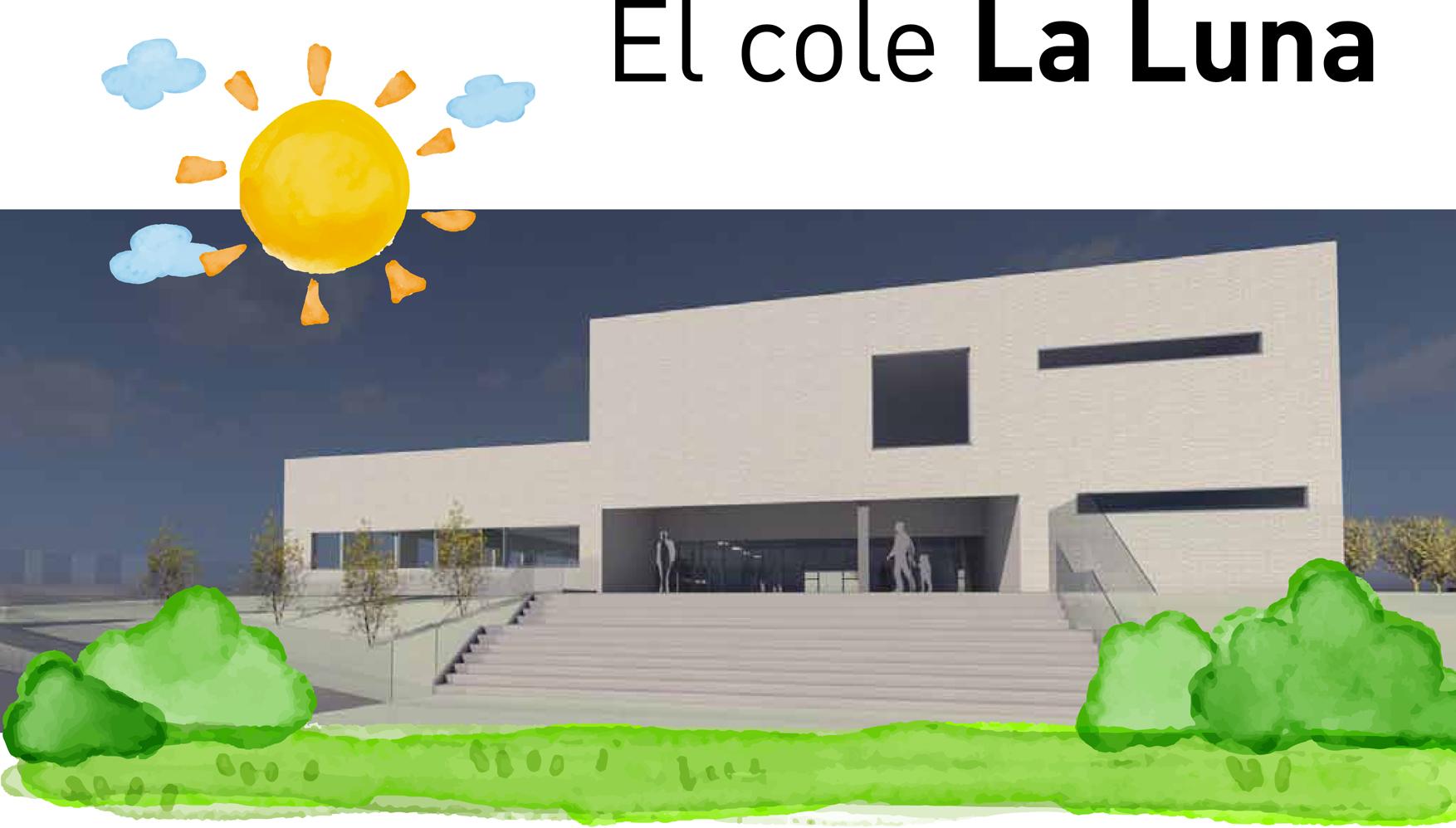 ¿Quieres saber como será el nuevo colegio La Luna?