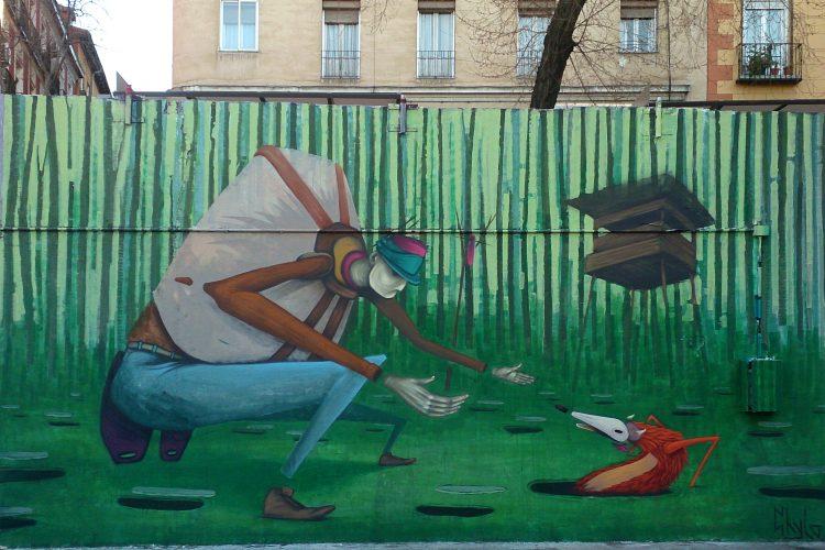 Obras ganadoras del concurso de arte urbano