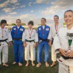 Cinturones de plata: judo femenino