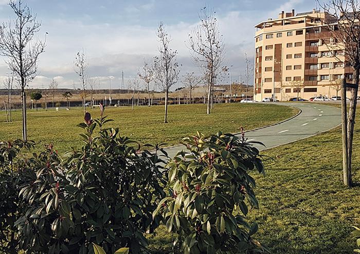368 árboles y ajardinamiento de la escena urbana