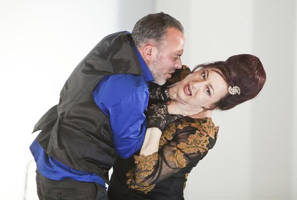 Javier Gutiérrez, un 'Mácbez' con Carmen Machi